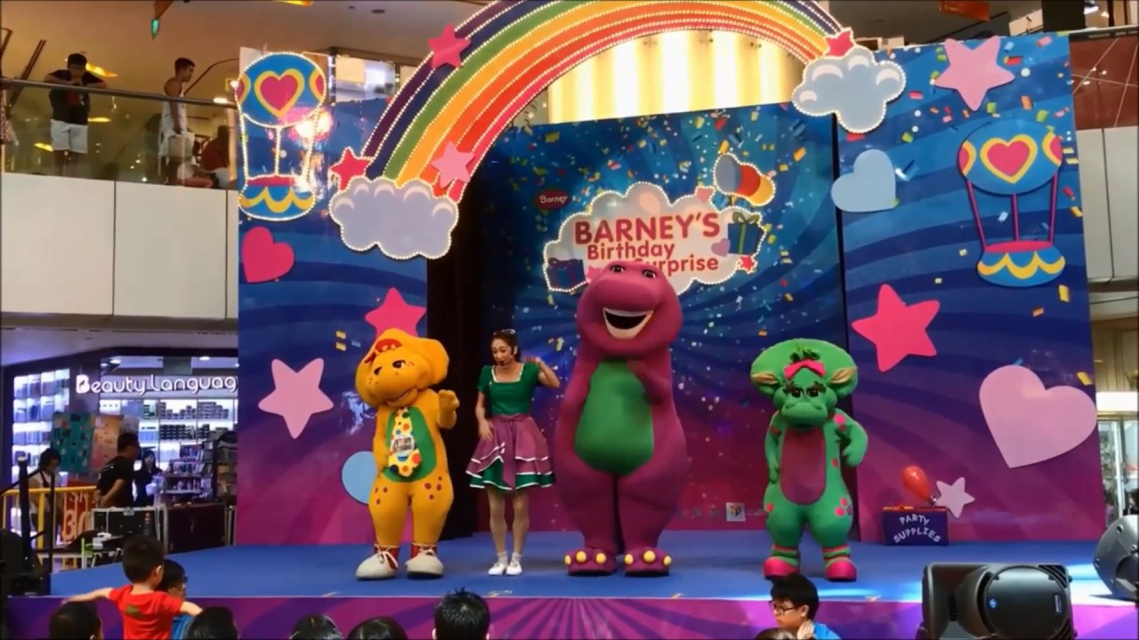 Barney's Birthday Surprise Live Show At United Square