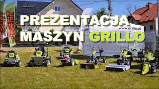 Prezentacja maszyn Grillo / profesjonalne urządzenia ogrodnicze i komunalne