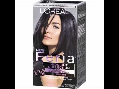 L Oreal Paris Feria Midnight Collection Haircolor Violet Soft Black 1 Ea