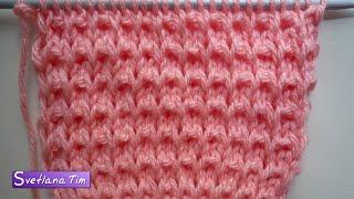Плотный Узор спицами, Плотная Вязка. Вязание на спицах мастер класс / светлана тим узоры # 239