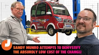 homepage tile video photo for Sandy Munro Attempts To Demystify The Absurdly Low Cost Of The Changli