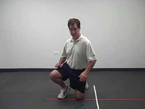 Chicago golf fitness trainer shows how to increase your shoulder turn for longer drives