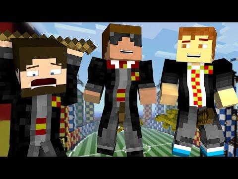 Quidditch Tryouts Minecraft Wizard High S1 Ep 4 Minecraft