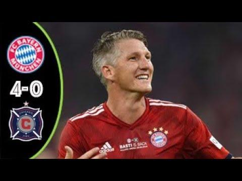 Download Bayern Munich vs Chicago Fire 4-0 | All Goals & Highlights | Testimonial 28/08/2018 HD