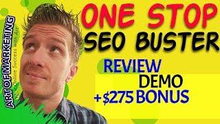 OneStop SEO Buster Review 🤑 Demo 🤑 Exclusive $275 Bonus …