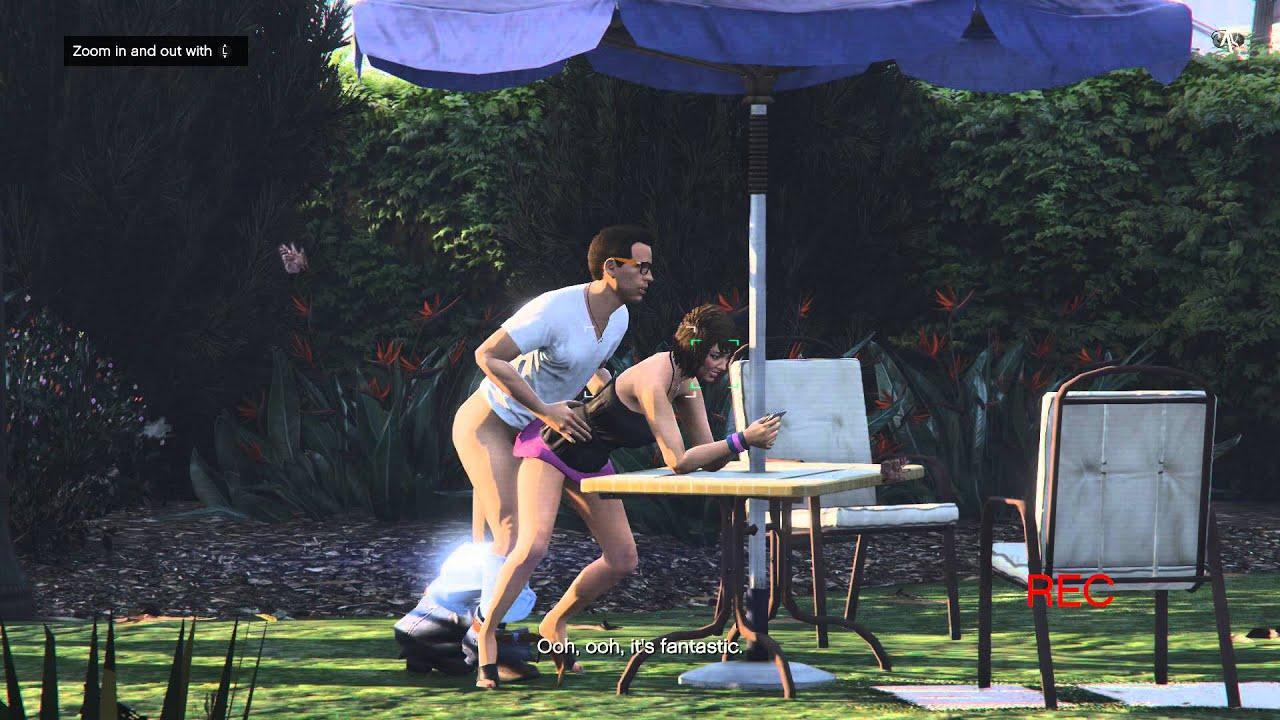 Gta V Xbox One - Episode 12 - Franklin - Paparazzo - The Sex Tape - Youtube-9548