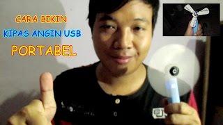 Cara Membuat Kipas Angin USB
