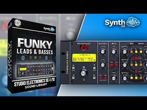 STUDIO ELECTRONICS SE-1 / 1X | FUNKY LEADS & BASSES | SOUND BANK
