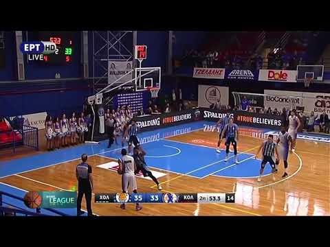 Holargos BC - Kolossos Rodou BC 74 60 Highlights