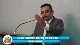 Vereador Faguinho pronunciamento 14 07 2017