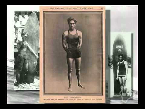 The Hawaii surfing history
