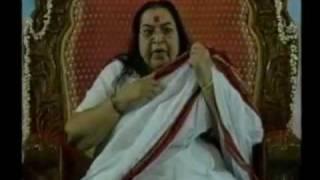 Shri Mataji - Parameshwari Bhagawati Nirmala (Sahaja Bhajan).mpg