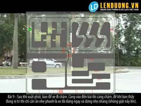 Học lái xe hà nội: Qua ngã tư có tín hiệu điều khiển giao thông lần 3 (bài 9)