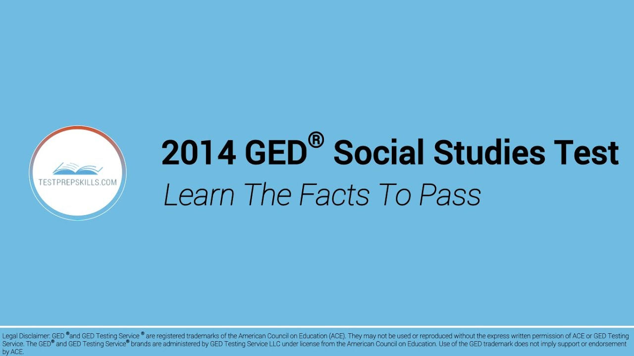 Ged worksheets 2014