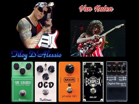 Van Halen Erupition Amazing Tone And Setup Pedals Youtube