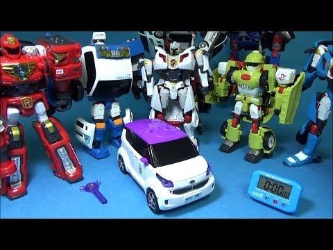 또봇 W 1분 안에 변신시키기 변신동영상 장난감 Tobot W Transformation In 1 Min.