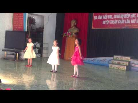 Bài hát Ước mơ thần tiên Trường Tiểu học thị trấn Thuận Châu