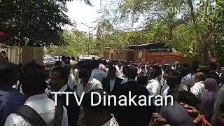 Chief minister defermation case / ttv dinakaran appearence before session court