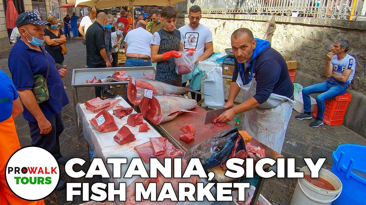 Catania, Sicily - Fish Market Tour