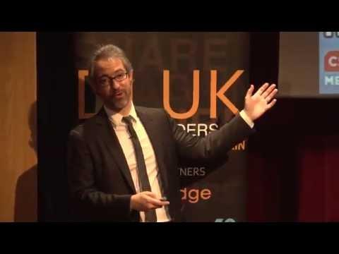 Christophe Langlois, Social Media Speaker at Digital Leaders Briefing Sept 2014