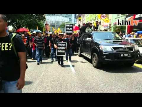 'Undur Najib... tangkap Najib, tangkap Rosmah' bergema