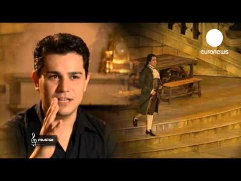 Saimir Pirgu - Euronews - interview on Don Giovanni at Arena di Verona