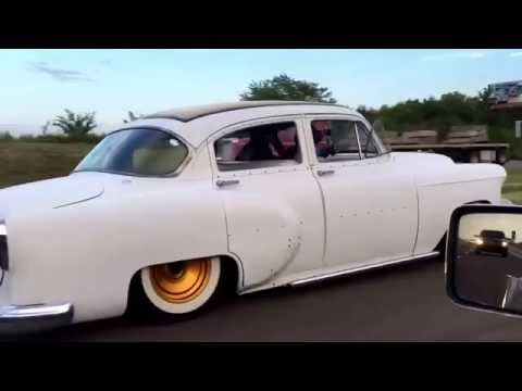 1954 Chevy Belair. Rolling shots