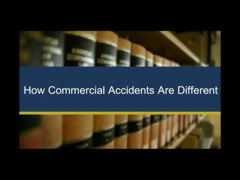 What Happens If You're In An Car Accident With A Commercial Vehicle?