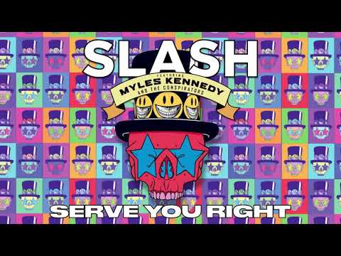 "SLASH FT. MYLES KENNEDY & THE CONSPIRATORS - ""Serve You Right"" Full Song Static Video"