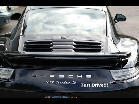 porsche 911 turbo s chrono 2015 test drive awesome youtube