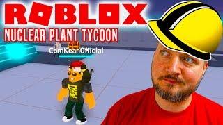 MIN BASE! - Roblox Nuclear Plant Tycoon Dansk