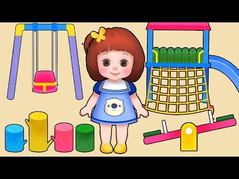 Thumbnail: Baby Doli play ground ride and baby doll toys play
