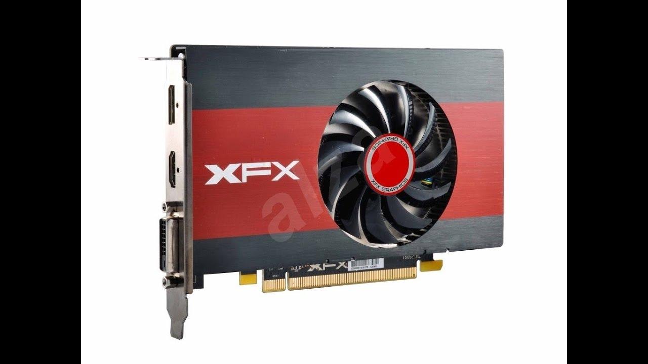 XFX RS Radeon RX 550 4 GB 1 slot Gpu- unboxing - YouTube