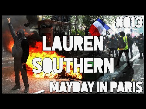 Police vs Protesters Paris #MayDay