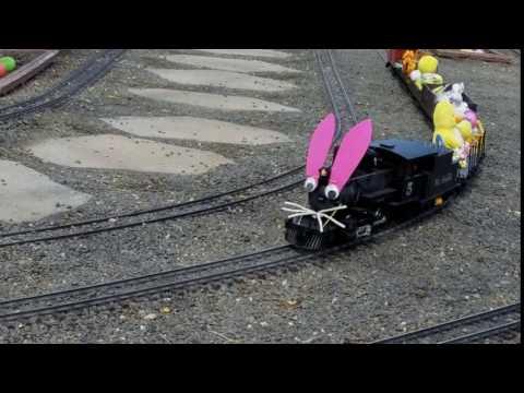 Colorado Railroad Museum, Easter Bunny Express 2017