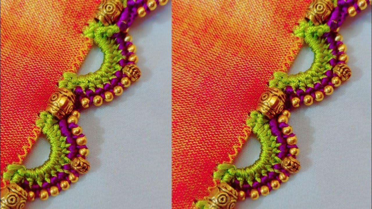 #sareekuchu #162 // #bridalsareekuchu //Saree #kuchu//#SiriCreations