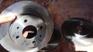 Отличия тормозных дисков 2108 2110 Приора