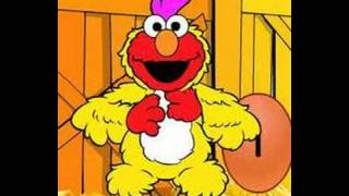 Elmo does the chicken dance(turn up volume)