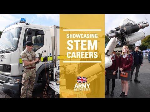 Sandhurst Showcases STEM   British Army