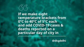 #askHKUMed on COVID-19: A study to show linkage between temperature and coronavirus survival?