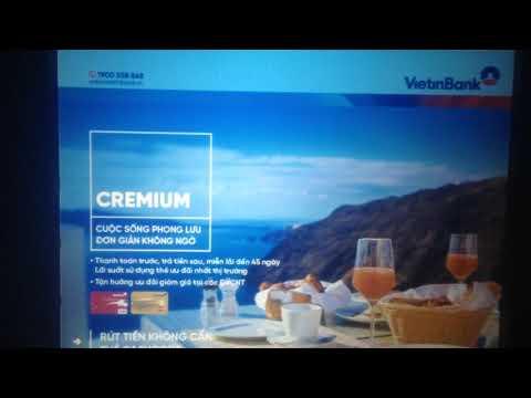 Cách chuyển khoản từ thẻ ATM vietinbank sang agribank