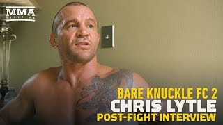 Bare Knuckle FC 2: Chris Lytle Says Body Shots in Bare Knuckle Feel Like 'Stabbing' - MMA Fighting