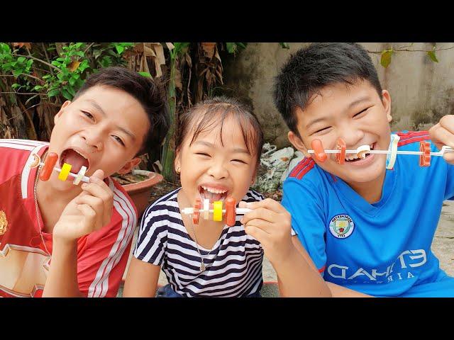 Bạn Ken Trong Sân Shop - Trò Chơi Mở Shop Đồ Nướng ❤ ChiChi ToysReview TV ❤ Đồ Chơi Doli Fun Song