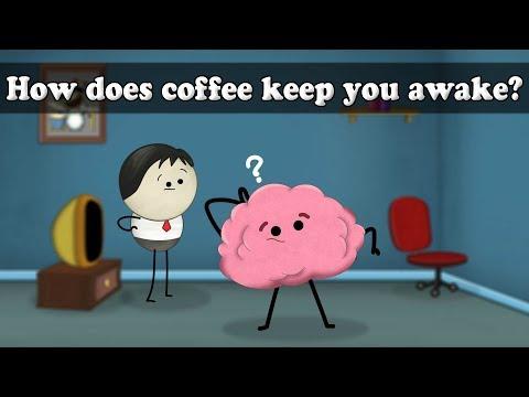 Caffeine - How does coffee keep you awake?