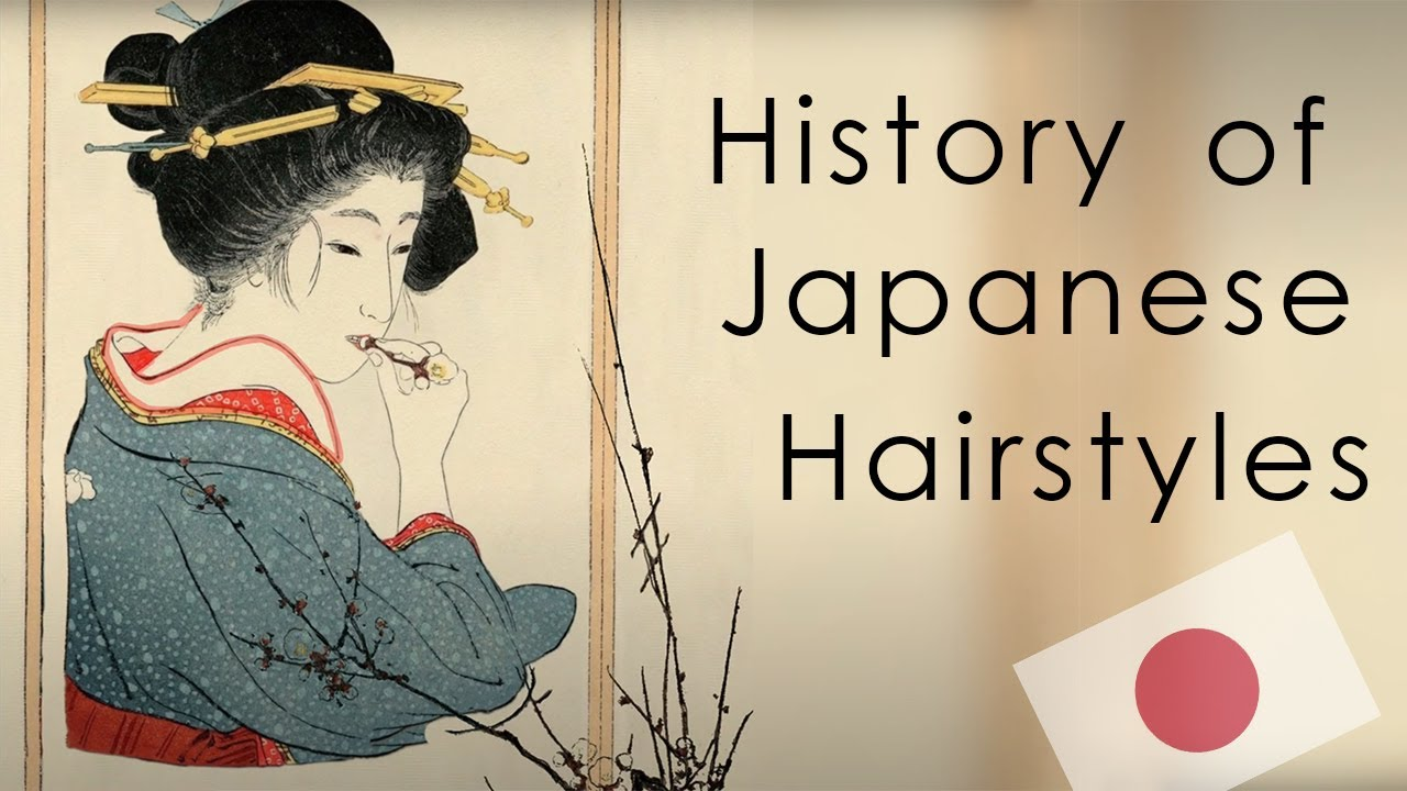 History of Japanese Hairstyles: Heian to Meiji Period