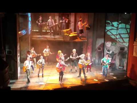 American Idiot finale at New Theatre Cardiff