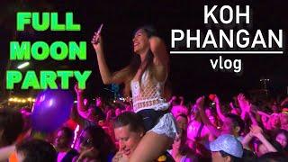 Koh Phangan VLOG 1 - The Full Moon Party