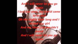 Eddie Rabbitt - I Will Never Let You Go Again.wmv