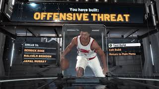 NBA 2K20 BEST JUMPSHOT AND BUILD - 99 OVERALL 6'5 OFFENSIVE THREAT SLASHER TAKEOVER - CONTACT DUNKS