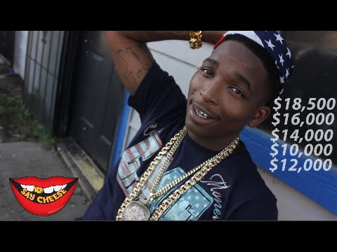 Trapboy Freddy flexes with over $80,000 worth of Jewelry!